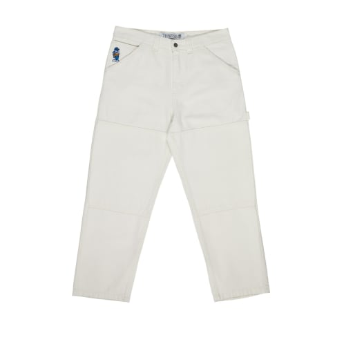 Polar Skate Co. 93 Canvas Trousers - Ivory