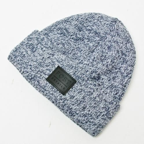 Post Hats & Details Classic Beanie Heather Blue