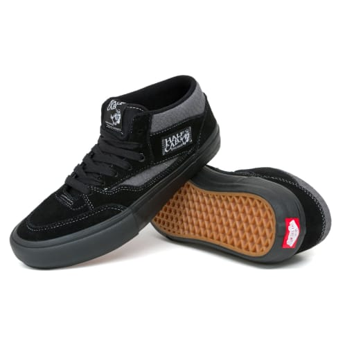 Vans Half Cab Pro 92 Shoes - Croc Black/Pewter