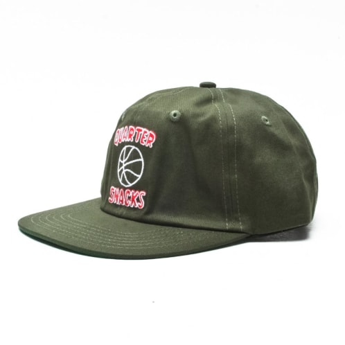 Quartersnacks Ball Is Life Strapback Green