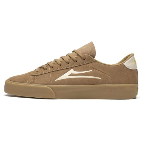 Lakai Newport Shoes - Tan/Gum Suede