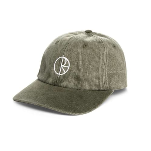 Polar Denim Cap - Army Green