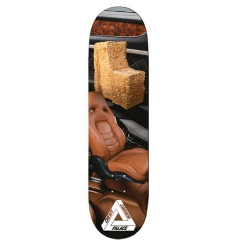 Palace Skateboards Chewy Cannon Interiors Skateboard Deck - 8.38