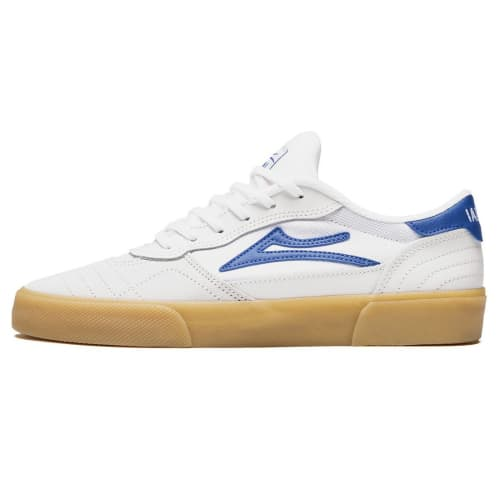 Lakai Cambridge Shoes - White/Blue