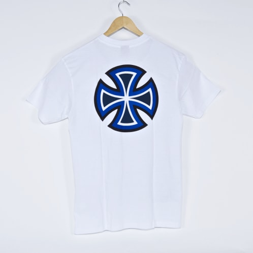 Independent - Bar Cross Primary T-Shirt - White