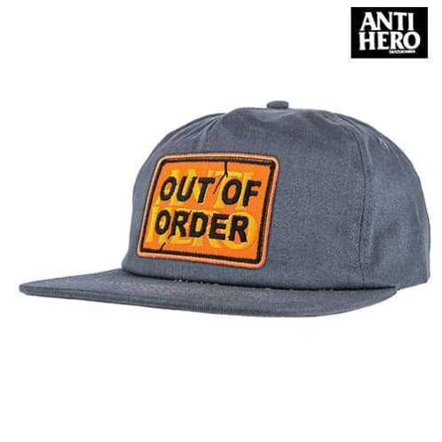 Anti-Hero Out Of Order Snap Back