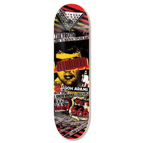 Black Label Skateboards Jason Adams Bail Out Skateboard Deck - 8.68