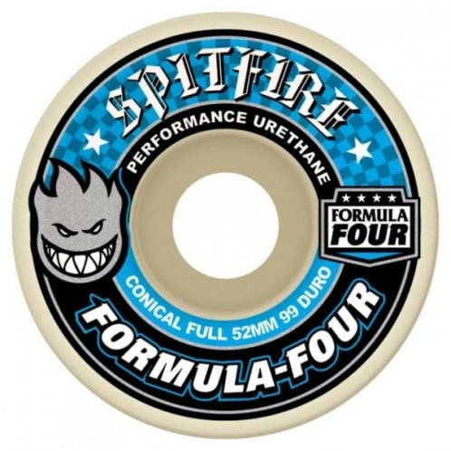 Spitfire Wheels - Formula Four Conical Full 99D - 53mm