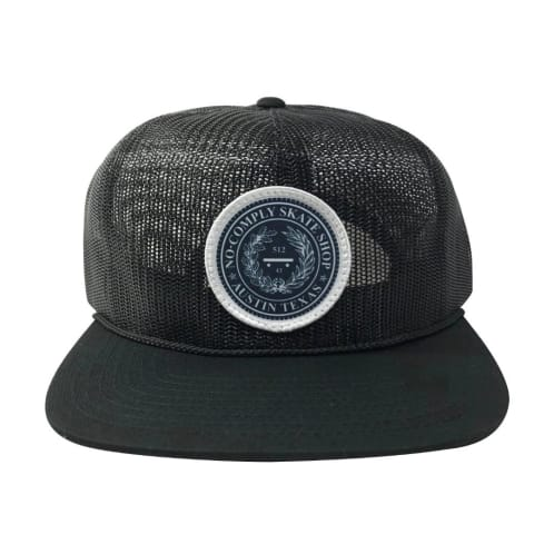 No-Comply Full Mesh Snap Back Hat