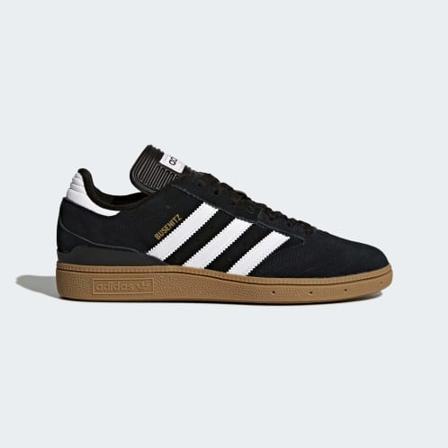 Adidas Busenitz Pro Shoes - Core Black/Cloud White/Gold Metallic