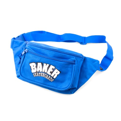 Baker Arch Logo Royal Shoulder Bag Canvas - Blue