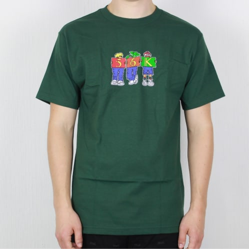 Bronze 56k Childhood T-Shirt Forest Green