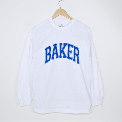 Baker Skateboards - Lakeland Longsleeve T-Shirt - White