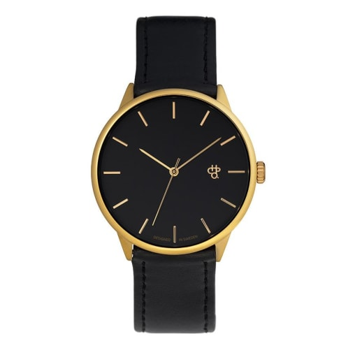 CHPO Khorshid Watch - Black/Gold