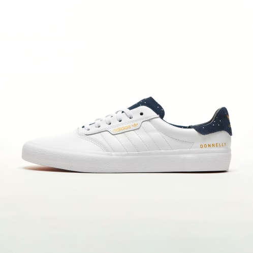 adidas 3MC Vulc Jake Donnelly - Cloud White/Collegiate Navy/Gold Metallic