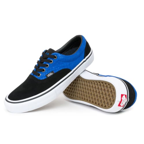 Vans Era Pro Rowan Zorilla Shoes - Black/Blue Croc