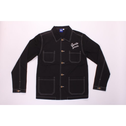 Quartersnacks Jacket Nylon Chore Black