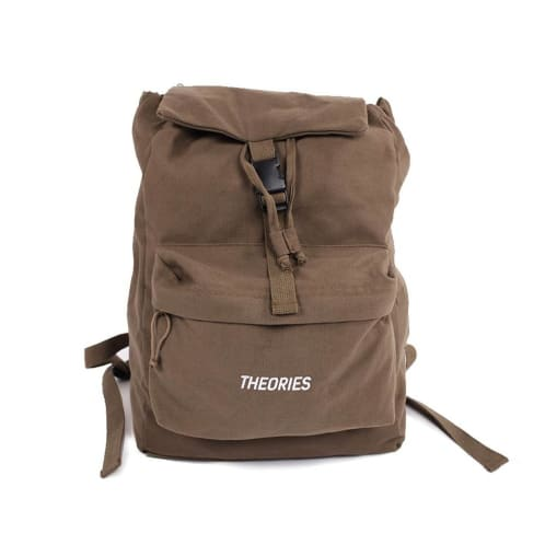 Theories Stamp Camper Backpack Olive