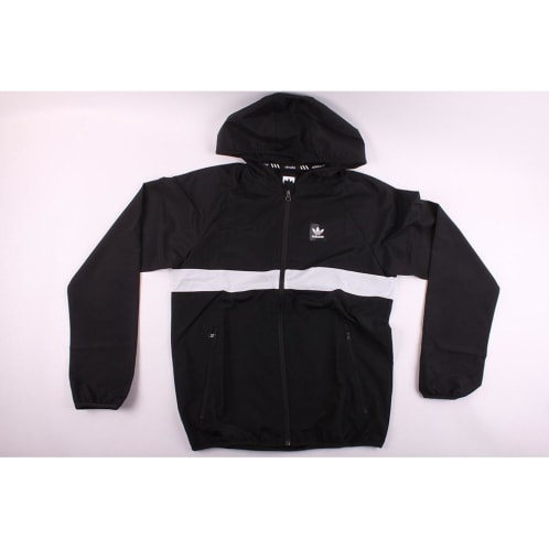 Adidas Skateboarding BB Wind Jacket Black/White