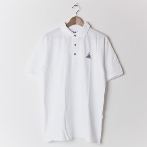 Theories Steve Brandi Court Polo White