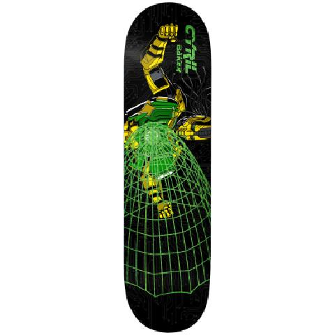 Baker Skateboards Cyril Jackson Cyrilax Deck - 8.125