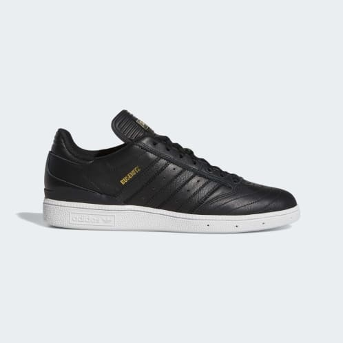 Adidas Busenitz Shoes - Core Black/Gold Metallic/Cloud White