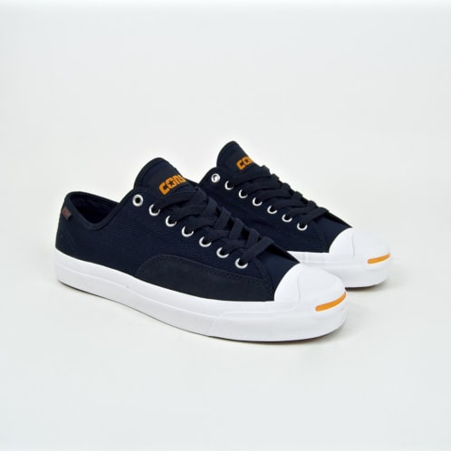 Converse Cons - Jack Purcell Pro OX (Workwear) Shoes - Dark Obsidian / White