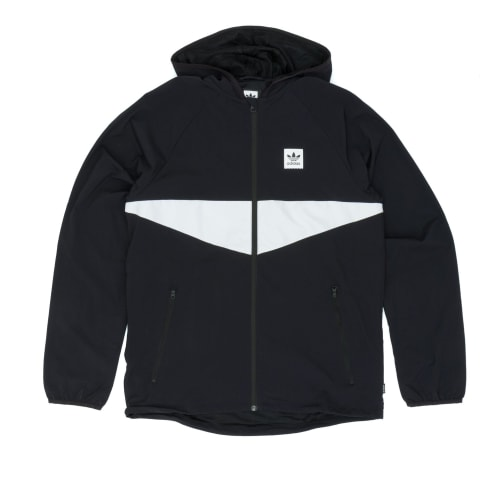Adidas Dekum Packable Jacket - Black/White