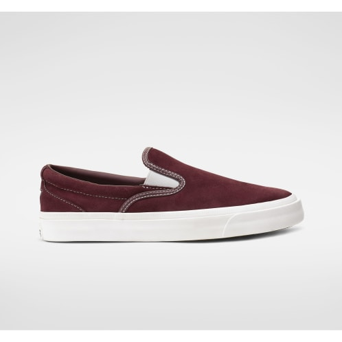 Converse Cons One Star CC Pro Slip - Dark Burgundy/White/White