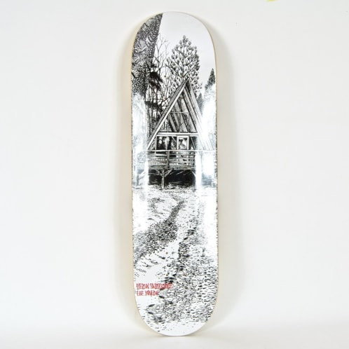 "Heroin Skateboards - 8.25"" 'Cabin Series 2' Lee Yankou Deck"