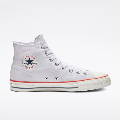 Converse Chuck Taylor All Star Pro High Top Shoes - White/Red/Insignia Blue
