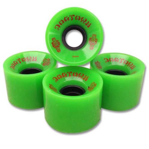 Dogtown Wheels Mini Cruiser Wheels Green - 59mm