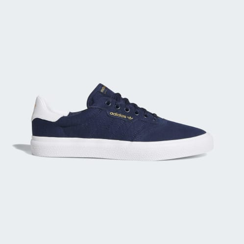 Adidas 3MC Vulc Shoes - Collegiate Navy/Cloud White/Collegiate Navy