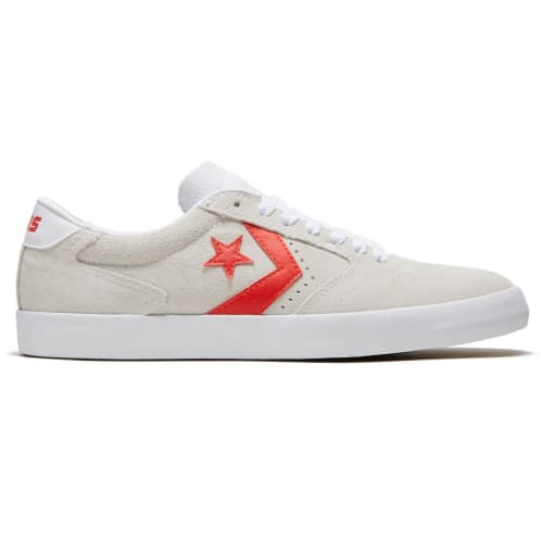 Converse Cons Checkpoint Pro OX Shoe White/Habanero Red/White
