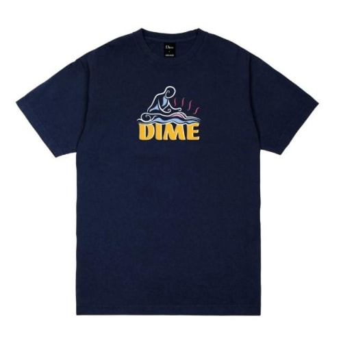Dime Relief T-Shirt Navy