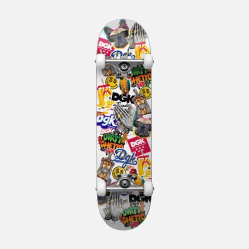 "DGK - 7.75"" Stick Up Deck Complete Skateboard"