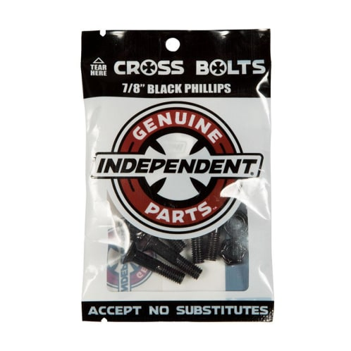 """Independent Trucks - Independent 7/8 Inch Phillips Bolts Black 