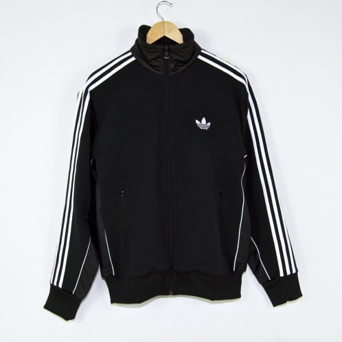 Adidas Skateboarding - Tyshawn Jones TJ Firebird Jacket - Black / White