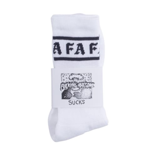 Fucking Awesome Children Of A Lesser God Socks - White/Navy