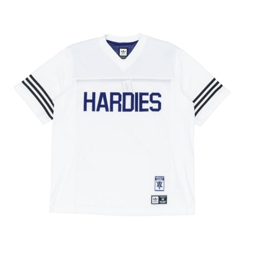 Adidas x Hardies Jersey - White/Collegiate Purple/Black