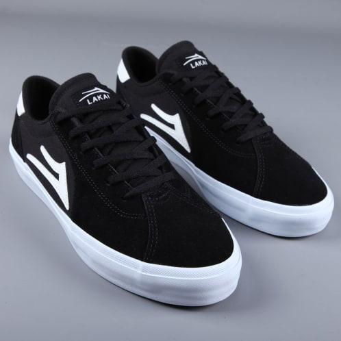 Lakai 'Flaco 2' Skate Shoes (Black Suede)