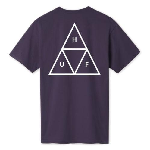 Huf Triple Triangle T-Shirt - Purple Velvet