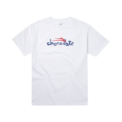Lakai - Chocolate Skateboards Flare T-Shirt - White