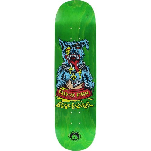 Black Label Patrick Ryan Sick Dog Skateboard Deck - 8.25