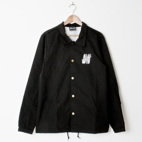 North N Logo Coach Jacket Embroidered