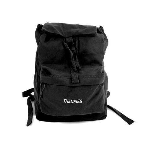 Theories Stamp Camper Backpack Black