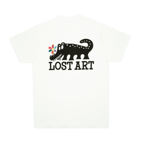 Lost Art - Daisy Age T-Shirt - White