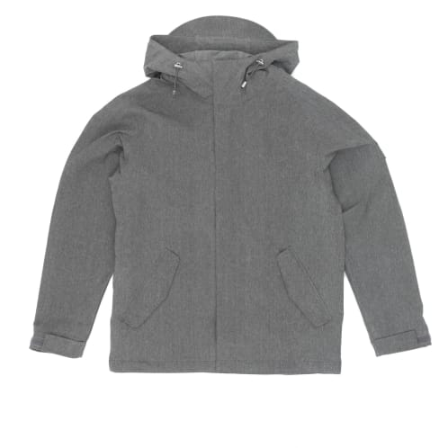 Makia Canopy Jacket - Grey Melange