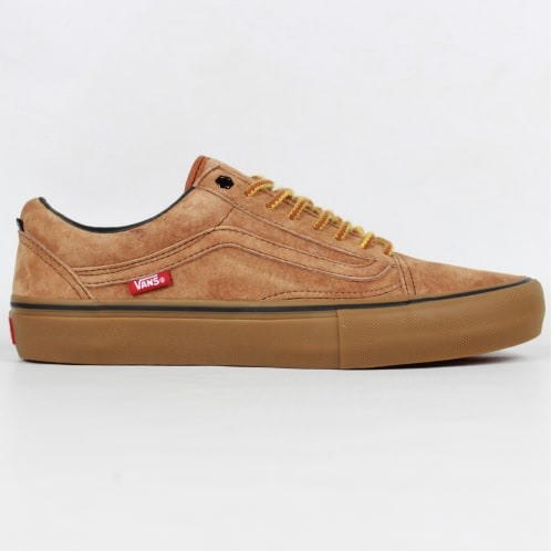 Vans X Anti Hero Old Skool Pro Shoes Cardiel/Camel