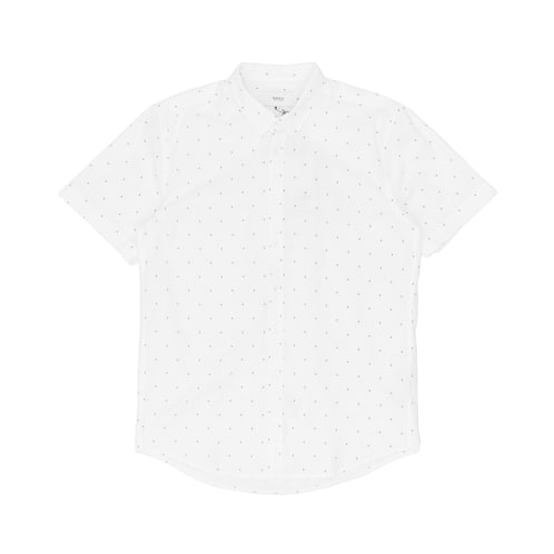 Makia Anchors Short Sleeved Shirt - White